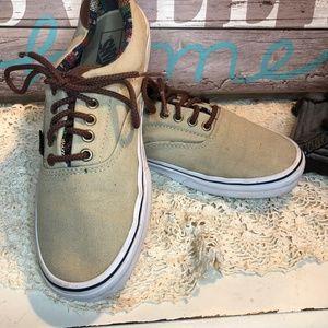 Classic Mens Skate canvas Vans size 10